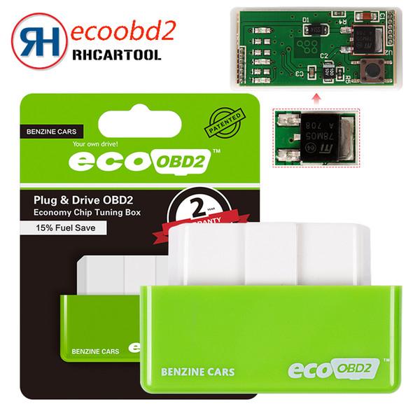 Eco OBD2 Benzine Economy Fuel Saver Tuning Box Chip For Car Gas Saving Universal