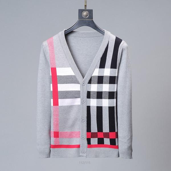 Nouvelle-coréen Mode Hommes Couple tricotée Strips hiver Pull Automne Coton Pull à manches longues Pulls Pull