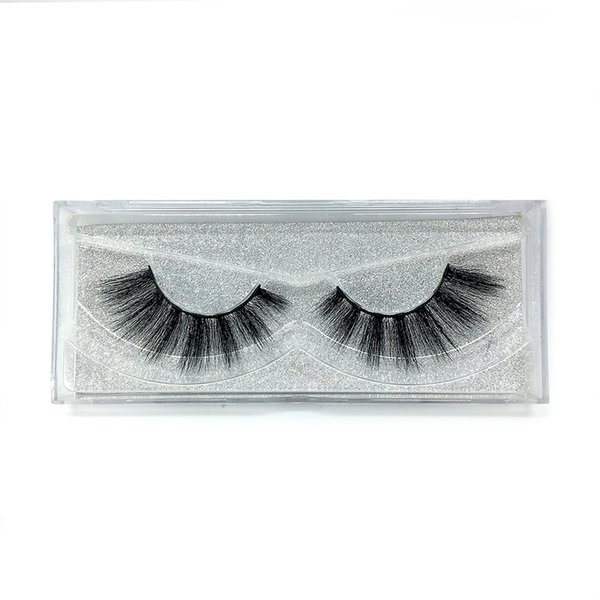 A25 The newest A pair of mink false eyelashes cross eyelashes thick hot sales false eyelash ripple silk eyelash