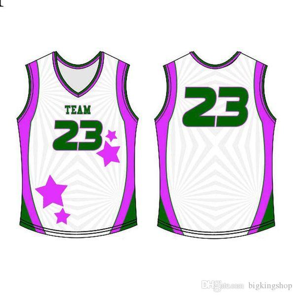 Hochwertiges Mens 2020 Jersey Top genäht Logos Basketball Wear Qualität S-XXXL Günstige Großhandel roidery Logos23666
