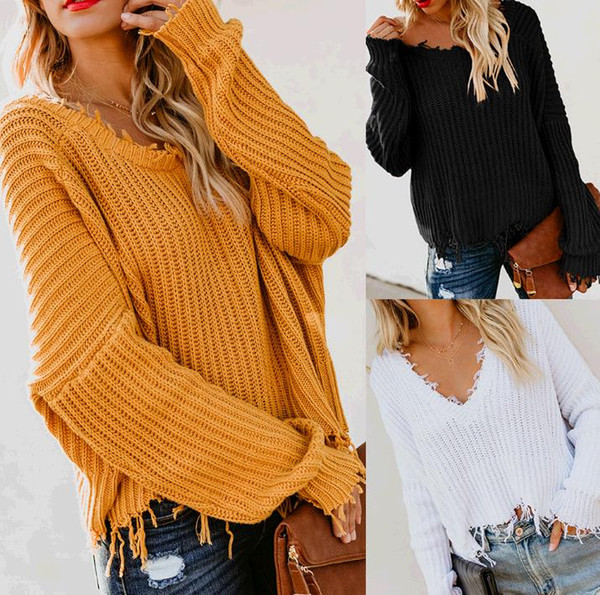 S-L women o neck long sleeve sweater autumn winter casual leisure tops sweater pure color backless christmas sweater