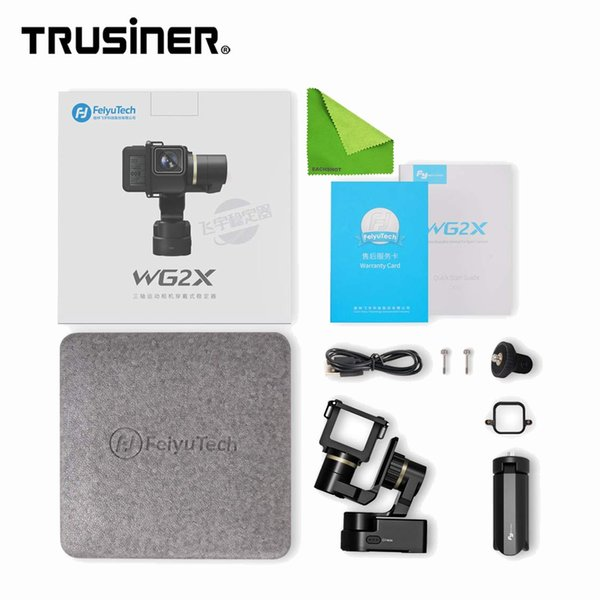 Newest Feiyutech WG2X Mini Wearable Waterproof Gimbal 3-Axis Gimble Stabilizer for GoPro Hero Series Action Camera