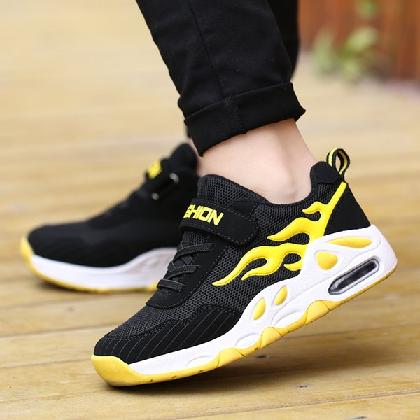 Spring Summer New Boys Shoes Fashion Light Soft Children Shoes Breathable Mesh Summer Casual Kids Shoes Size 29-39MX190919