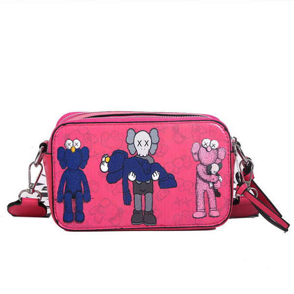 INS Cartoon Mini ragazze Borse Borse Moda bambini di design per bambini Borse Borse a tracolla Messenger Bag delle donne del progettista del sacchetto del sacchetto dei bambini A8473