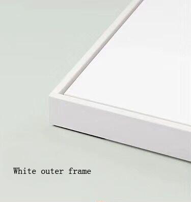 Beyaz dış çerçeve