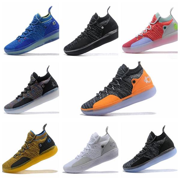 Compre Nike KD 11 Zapatillas De Baloncesto KD 11 EP Elite KD 11s Hombre Peach Jam Multicolor Hombre Zapatillas De Deporte Doernbecher Kevin Durant 10