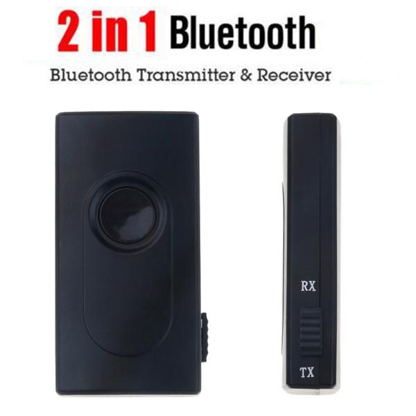 2 in1 Bluetooth приемник передатчик автомобильный комплект 3,5 мм стерео Беспроводной музыкальный аудио кабель Dongle V4.2 адаптер для TV DVD MP3-плеер