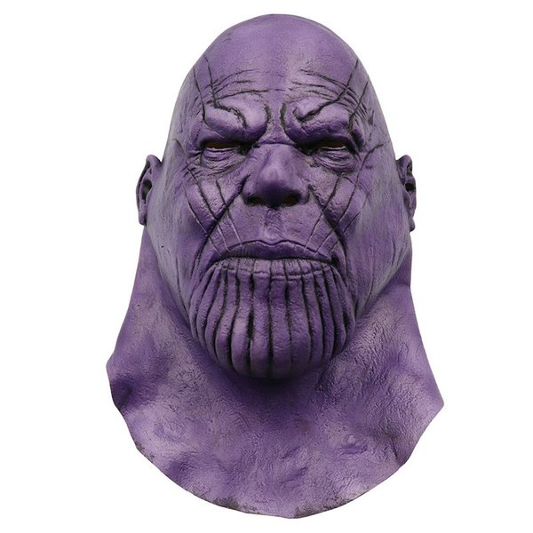 4 Endgame Infinity Thanos Mask Infinity Gauntlet War Helmet Cosplay Thanos Masks Halloween Party Props