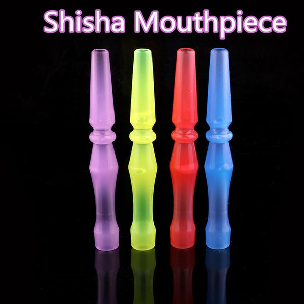 2019 Hookah Shisha Mouthpiece Cover Plastic Disposable Mouthpiece Tips Healthy E-Hookah Water Pipe Individual Package free shipping