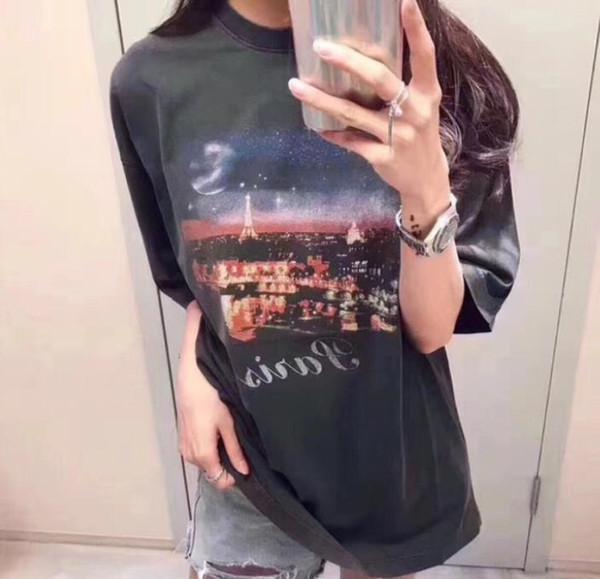 Женские футболки Heron Preston Лето Дизайнерские топы Повседневные скейтборды Уличные футболки с короткими рукавамиЖенская мода Париж Фирменные футболки Summer Casua