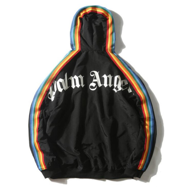 2019 Mens Designer Jacken Mode Marke Sportbekleidung für Herren Jacken Mäntel LuxuxMens Windjacke Tops Kleidung 2 Farben Größe S-XL