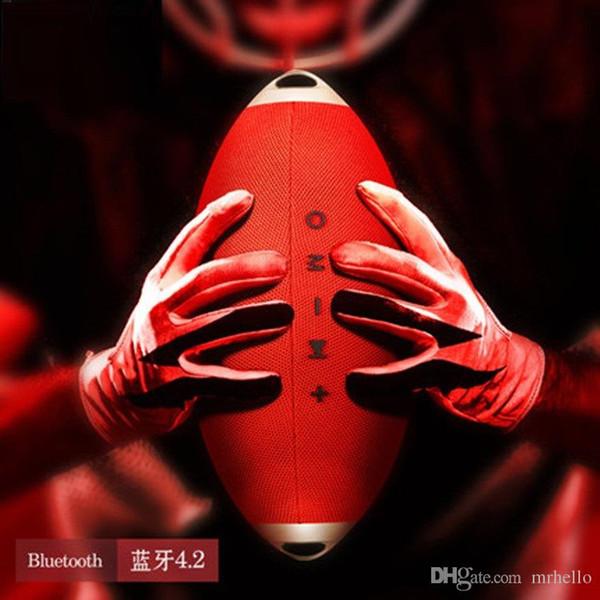 Pro3 Creative Rugby Wireless Bluetooth-Lautsprecher Tragbarer Trageriemen Mit TF-Karte U-Disk Freisprechen Intelligente Musiklautsprecher