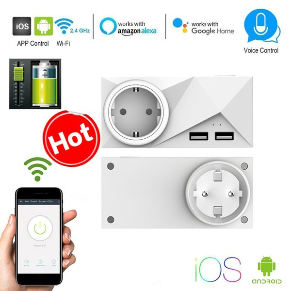 Smart Plug Socket Power Wifi Smart Switch Homekit Compatible Alexa Google  Home Assistant IFTTT Remote Control Home Automation Arduino Home Automation