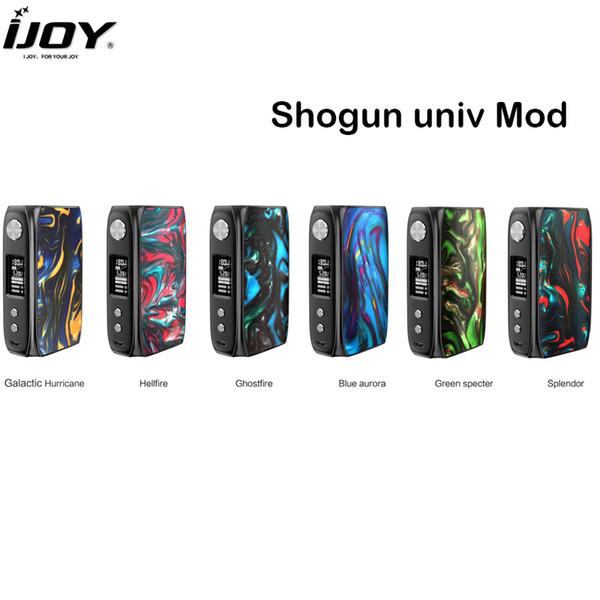 Original IJOY Shogun Univ Mod 180W POWER POD Box MOD Vape Support KATANA SUBOHM Tanque E Kit de Vapor de Cigarrillos