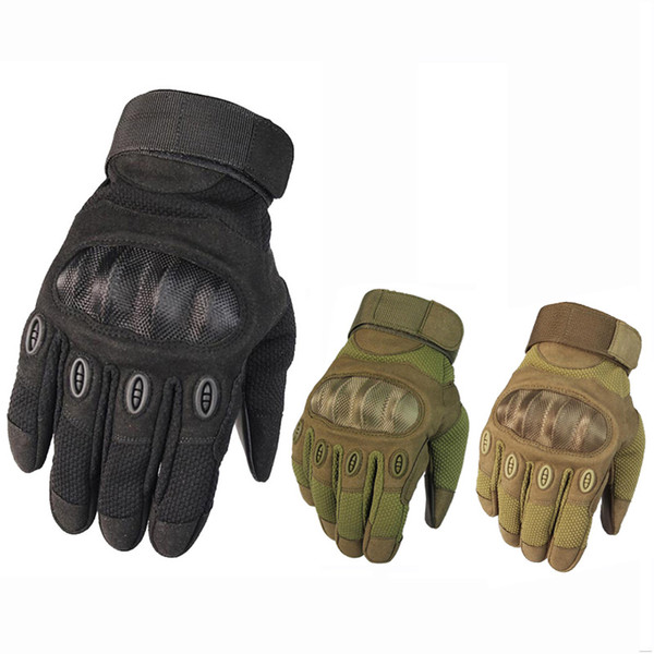 Touch Screen Army Tactical Gloves Winter Sport Motorcycle Climbing Hiking Gloves Men's Full Finger For Paintball Shooting