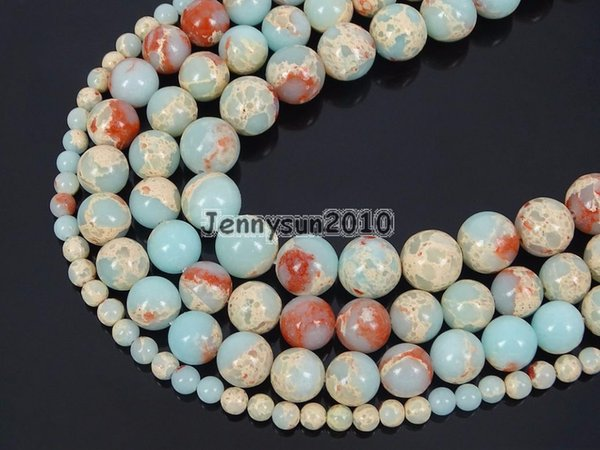 Natural Shoushan Stone Gems Stone Round Beads 15'' Strand 4mm 6mm 8mm 10mm 12mm for Jewelry Making Crafts 5 Strands/Pack