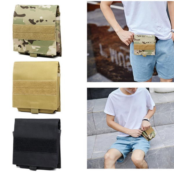Tactical Mobile Phone Pouch Army Belt Bag Outdoor Camping Hiking Waist Pouch Fanny Pack Holster Cell Phone Cover Case