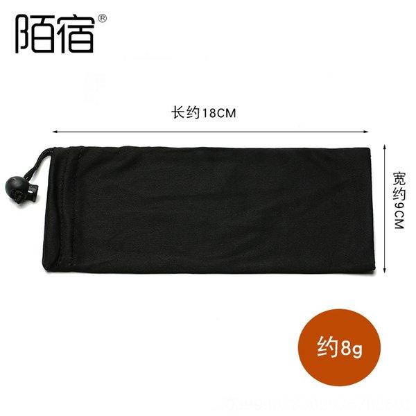 Schwarze Stofftasche