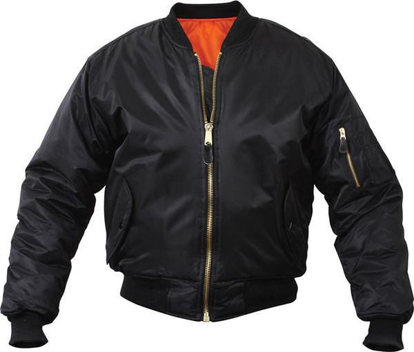 Men Winter Warm Airborne Flight Tactical Bomber Jacket Army Fly Pilot Jacket Motorcycle Down Coat