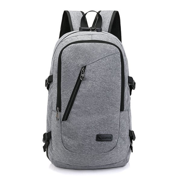 31f8cc8272db Good Quality Large Capacity Laptop Bag Man Usb Design Backpack Bag Canvas  Black Backpack Women School Bags Mochila Masculina Herschel Backpacks Best  ...