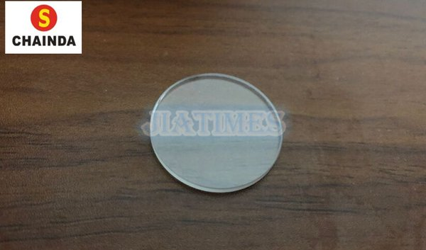 Free Shipping 20 PCs 3.5mm Thickness Flat Round Polished Mineral Glass Kit for Watch Repair