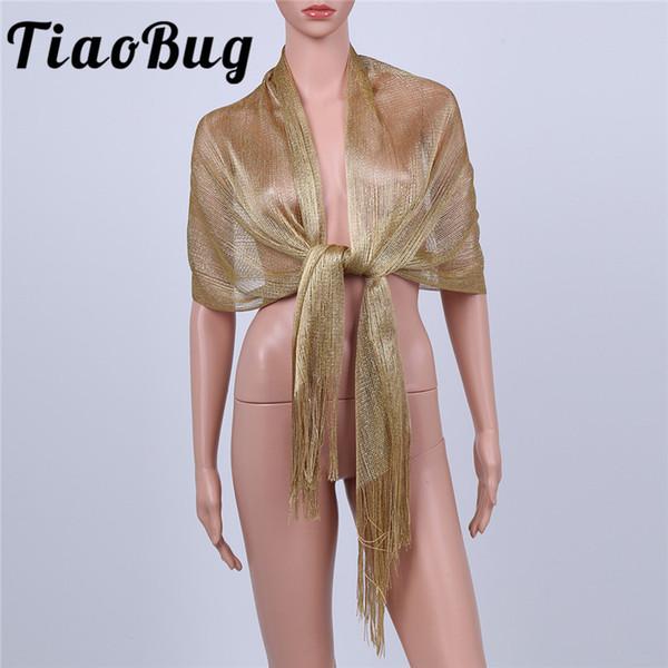 195cm x 53cm Bridal Shawl Flower Girl Wrap Cheap Scarves Long Bolero Wedding Shrug Cape Coats Women Party Evening Gown
