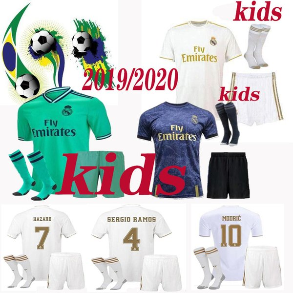 Формы для футбола для детей реал мадрид