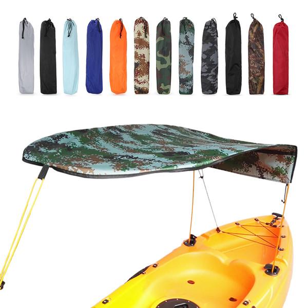 Kayak Boat Canoe Sun Shade Einzelperson Segelboot Sun Shelter Markise Top Cover Angeln Zelt Regen Baldachin