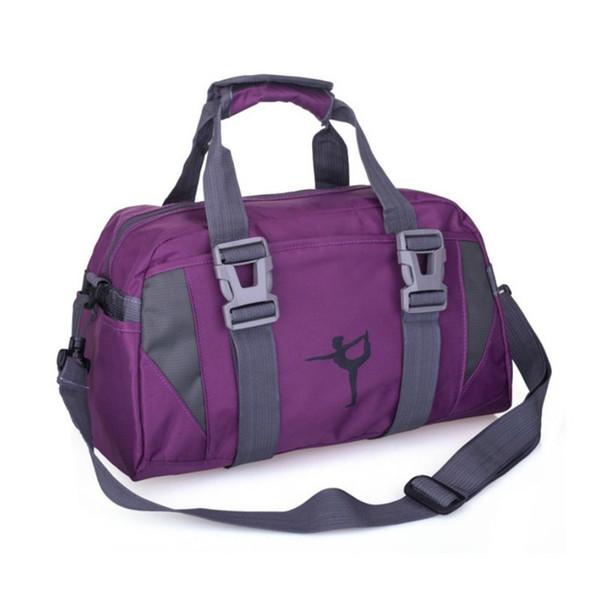 New Sports Training Fitness Bag Donna Sport Outdoor Gym Borsa Bagaglio Sacco Spalla femminile Pacchetto yoga # 159377