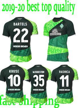 1899 SV Werder Bremen Retro # 10 KRUSE formaları Werder Bremen 120 yıldönümü futbol formaları 18 19 Werder Bremen PIZARRO