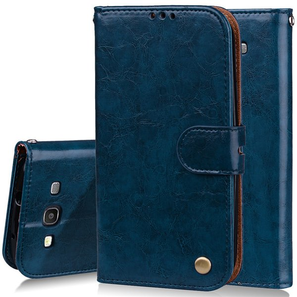 For Coque Samsung Galaxy S3 I9300 Case Leather Wallet Flip Case For Samsung S3 Neo I9301 Duos I9300i Phone Cases For Galaxy S3 Custom Phone Cases