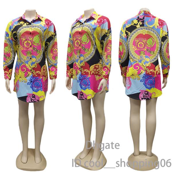 Designer-Hemd-Kleid der heißen Frauen reizvolles Art- und Weisehemd-Kleid-europäischer und amerikanischer Art-Hemd-Kleidverkauf gut