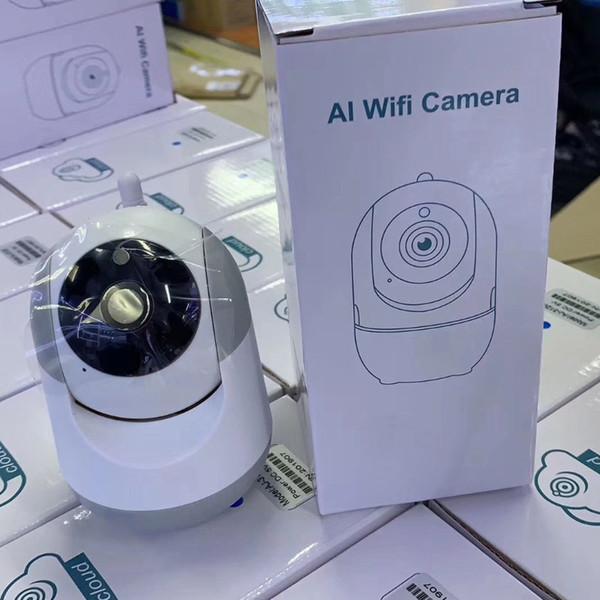 AI Câmera Wi-fi 720 P 1080 P Nuvem Sem Fio AI Wifi Câmera IP Inteligente Auto Rastreamento De Segurança Em Casa Humana Vigilância CCTV Rede Cam