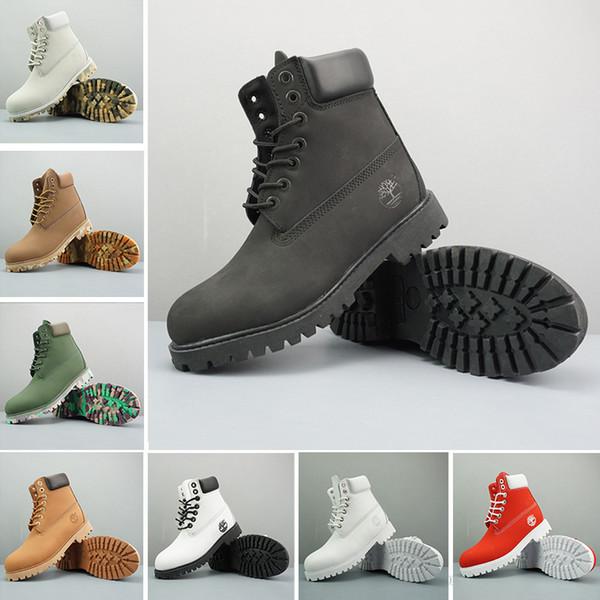 2019 TBL Timberlandbotlar Kadın Erkek Tasarımcı Spor Kırmızı Beyaz Kış Sneakers Casual Eğitmenler Womens Lüks ayakkabı tasarımcısı 36-46
