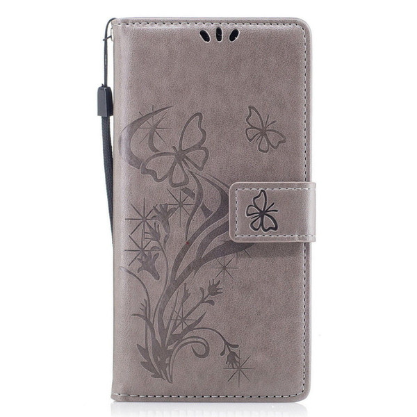 For iPhone Xs Max Xr 8 Plus 7 Huawei Mate 10 Xiaomi Redmi Note4 Embossed Flower Card Holder Wallet Flip Leather Case Cover