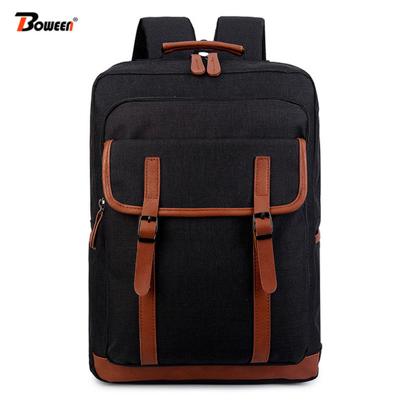 Oxford student school bags for teenager boys men backpack women Preppy Style College high schoolbag Large Capacity bookbag 2019