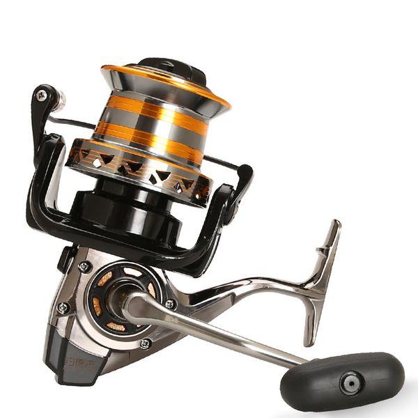 Woen Tipo 9000 Tutto il metallo diagonale tazza Bobina di pesca 13bb Distante Rapporto di velocità della ruota: 4.0: 1 Sea pesca bobina di pesca di ancoraggio