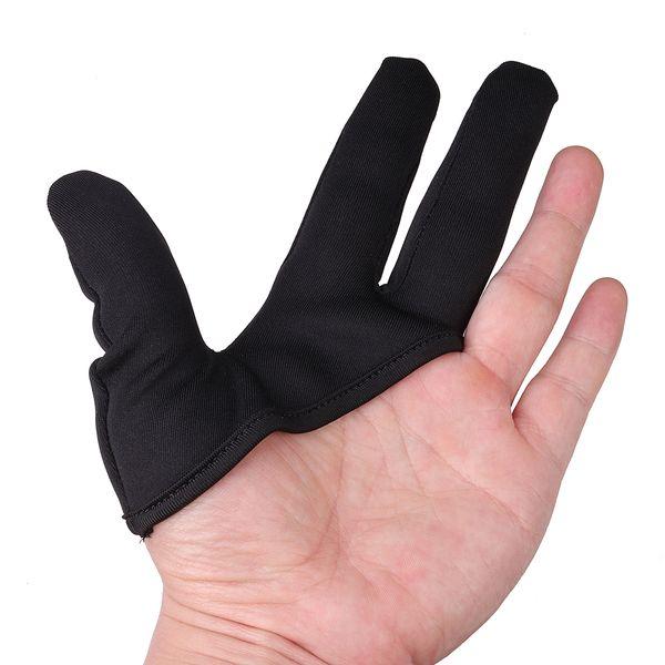 Pro Salon Plancha de pelo Resistente al calor Curling Peluquería 3 Dedos Guante Peluquero Peluquería Herramienta de protección de peinado