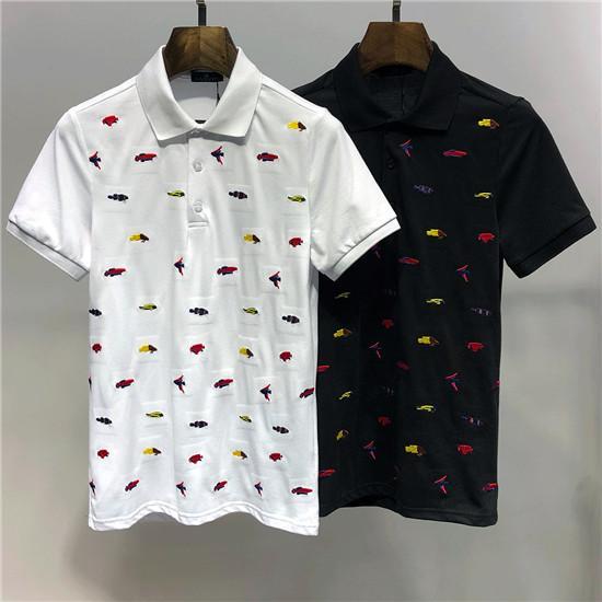 diseñador gratis de París Camiseta de la fan letras del algodón del verano de lujo camiseta ocasional de los hombres de las mujeres de manga corta de la medusa T-shirt2