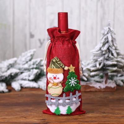 Muñeco de nieve rojo
