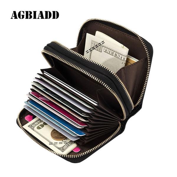 40859cf38268 Женщины кошельки натуральная кожа двойной молнии бумажник карты 586-39  небольшой кошелек для женщин бумажник