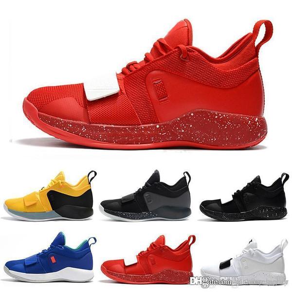 Перевозка груза падения дизайнер обуви PG 2.5 PlayStation Taurus дорожный мастер Баскетбольная обувь Paul George PG2.5 PS Спортивные кроссовки Размер 40-46