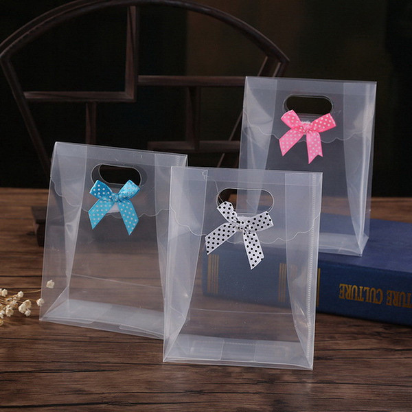 Clear Gift Candy Bag Chocolate Boxes Candy Box Christmas Wedding Favor Party Event Decoration Wholesale cyq00121