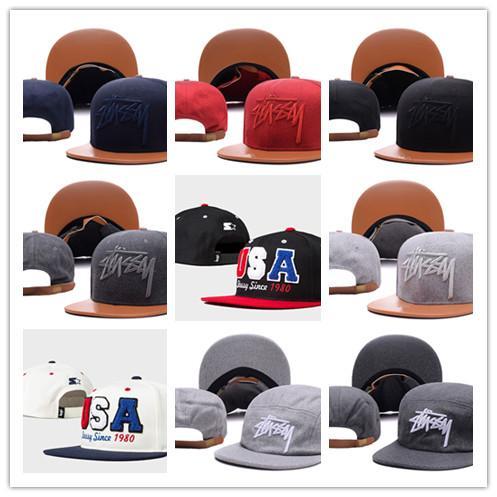 94e5eeb4142 wholesale Stussy spring Summer 2019 Brand New Cotton cap Mens Hat Youth  Letter Print Unisex Women