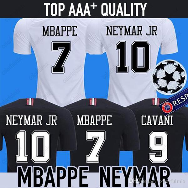2018 maillot psg forması maillot MBAPPE futbol forması CAVANI VERRATTI üst tayland 18 19 paris futbol forması KIMPEMBE Camiseta de futbol