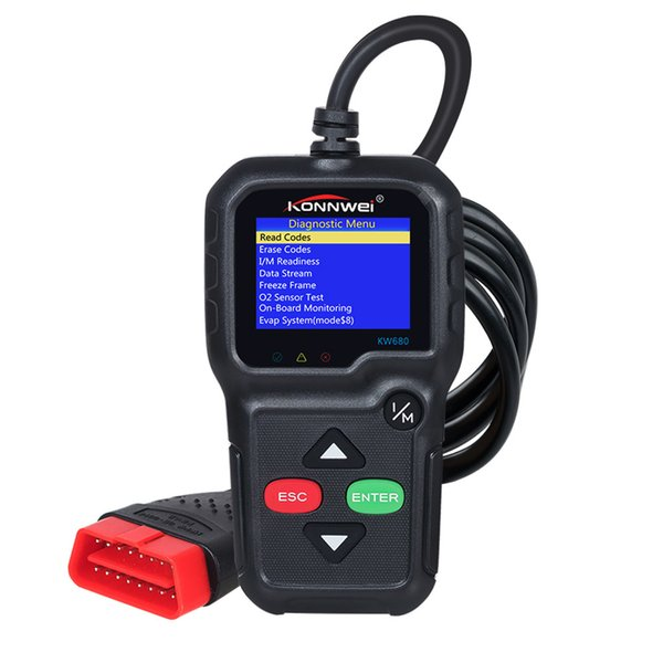 Automotive Scan Tool >> 2019 Car Obd2 Auto Scanner Kw680 Support Multi Language Full Obd 2 Function Automotive Scan Tool Auto Diagnostic Scanner From Paping 80 62