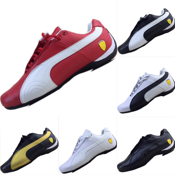 2019 New Future Cat All Leather Splicing Motorsport Shoes Future Cat M2 Mix RB Casual Kart Sneakers