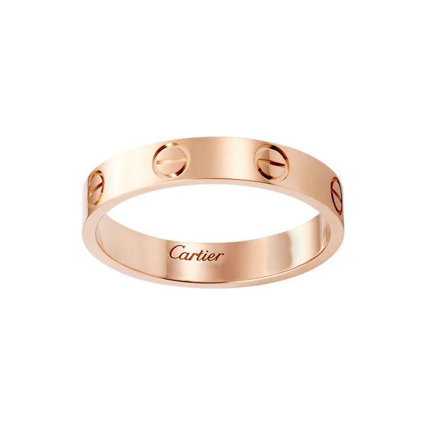 Titanium Steel Wedding Brand Band Love Rings for Women Rose Gold Engagement Luxury Rings Men Free Lettering Ring Gift