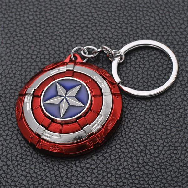 19 styles Marvel Avengers Endgame Thor's Hammer Keychain For Men Mjollnir Metal Model Keyring Pendant Jewelry Accessories jssl