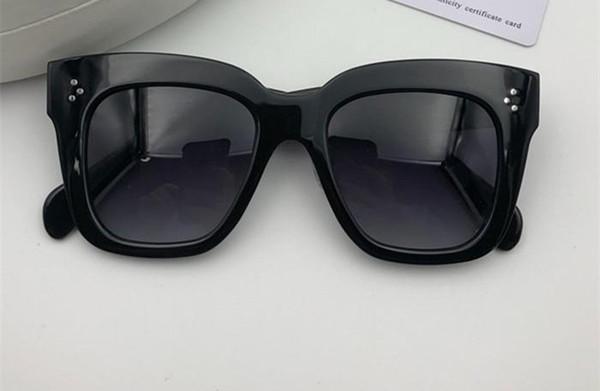 Lentille grise gradient noir